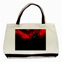 Spider Webs Basic Tote Bag by BangZart