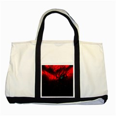 Spider Webs Two Tone Tote Bag by BangZart