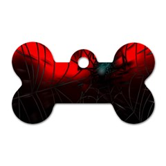 Spider Webs Dog Tag Bone (two Sides) by BangZart