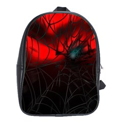 Spider Webs School Bags(large)  by BangZart