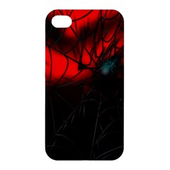 Spider Webs Apple Iphone 4/4s Premium Hardshell Case by BangZart