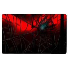 Spider Webs Apple Ipad 3/4 Flip Case by BangZart
