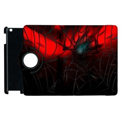 Spider Webs Apple Ipad 2 Flip 360 Case by BangZart