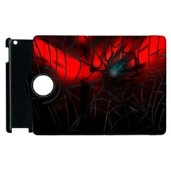 Spider Webs Apple Ipad 3/4 Flip 360 Case by BangZart