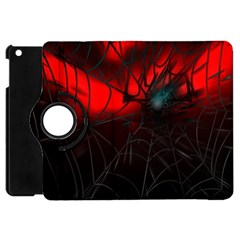 Spider Webs Apple Ipad Mini Flip 360 Case by BangZart