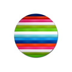 Colorful Plasticine Magnet 3  (round) by BangZart