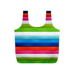 Colorful Plasticine Full Print Recycle Bags (s)  by BangZart