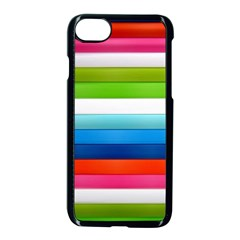 Colorful Plasticine Apple Iphone 7 Seamless Case (black) by BangZart