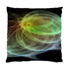 Yellow Smoke Standard Cushion Case (two Sides) by BangZart