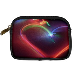 Neon Heart Digital Camera Cases by BangZart