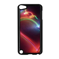 Neon Heart Apple Ipod Touch 5 Case (black) by BangZart