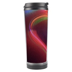 Neon Heart Travel Tumbler by BangZart
