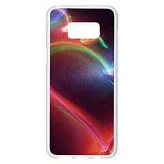 Neon Heart Samsung Galaxy S8 Plus White Seamless Case by BangZart
