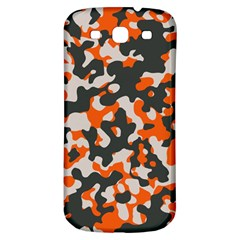 Camouflage Texture Patterns Samsung Galaxy S3 S Iii Classic Hardshell Back Case by BangZart