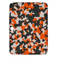 Camouflage Texture Patterns Samsung Galaxy Tab 3 (10 1 ) P5200 Hardshell Case  by BangZart