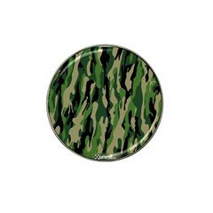 Green Military Vector Pattern Texture Hat Clip Ball Marker (10 Pack)