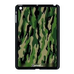 Green Military Vector Pattern Texture Apple Ipad Mini Case (black) by BangZart