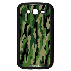 Green Military Vector Pattern Texture Samsung Galaxy Grand Duos I9082 Case (black) by BangZart