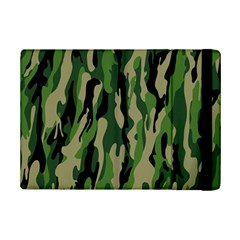 Green Military Vector Pattern Texture Ipad Mini 2 Flip Cases by BangZart