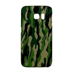 Green Military Vector Pattern Texture Galaxy S6 Edge by BangZart