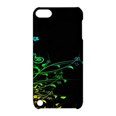 Abstract Colorful Plants Apple Ipod Touch 5 Hardshell Case With Stand by BangZart