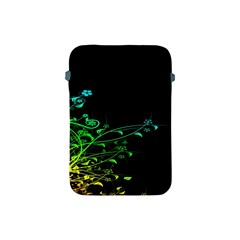 Abstract Colorful Plants Apple Ipad Mini Protective Soft Cases by BangZart