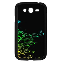 Abstract Colorful Plants Samsung Galaxy Grand Duos I9082 Case (black) by BangZart