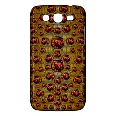 Angels In Gold And Flowers Of Paradise Rocks Samsung Galaxy Mega 5 8 I9152 Hardshell Case  by pepitasart