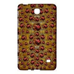 Angels In Gold And Flowers Of Paradise Rocks Samsung Galaxy Tab 4 (7 ) Hardshell Case  by pepitasart