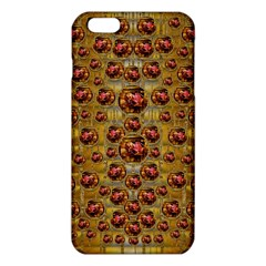Angels In Gold And Flowers Of Paradise Rocks Iphone 6 Plus/6s Plus Tpu Case by pepitasart