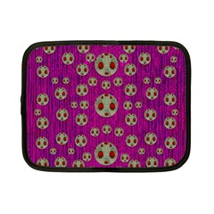 Ladybug In The Forest Of Fantasy Netbook Case (small)  by pepitasart