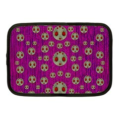 Ladybug In The Forest Of Fantasy Netbook Case (medium)  by pepitasart