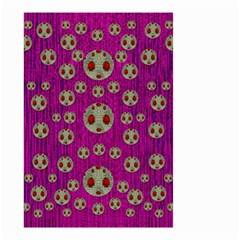 Ladybug In The Forest Of Fantasy Small Garden Flag (two Sides) by pepitasart