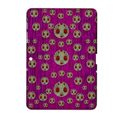 Ladybug In The Forest Of Fantasy Samsung Galaxy Tab 2 (10 1 ) P5100 Hardshell Case  by pepitasart