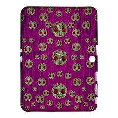 Ladybug In The Forest Of Fantasy Samsung Galaxy Tab 4 (10 1 ) Hardshell Case  by pepitasart