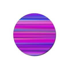 Cool Abstract Lines Rubber Coaster (round)  by BangZart