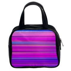 Cool Abstract Lines Classic Handbags (2 Sides) by BangZart
