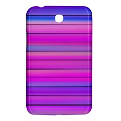 Cool Abstract Lines Samsung Galaxy Tab 3 (7 ) P3200 Hardshell Case  by BangZart