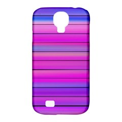 Cool Abstract Lines Samsung Galaxy S4 Classic Hardshell Case (pc+silicone)