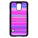 Cool Abstract Lines Samsung Galaxy S5 Case (Black) Front