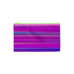Cool Abstract Lines Cosmetic Bag (xs) by BangZart