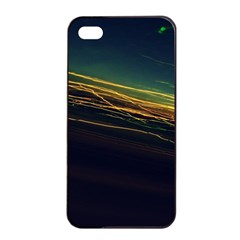 Night Lights Apple Iphone 4/4s Seamless Case (black) by BangZart