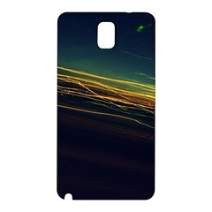 Night Lights Samsung Galaxy Note 3 N9005 Hardshell Back Case by BangZart