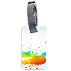 Colorful Abstract Luggage Tags (two Sides) by BangZart