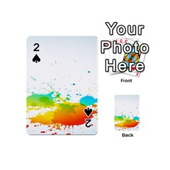 Colorful Abstract Playing Cards 54 (mini)  by BangZart