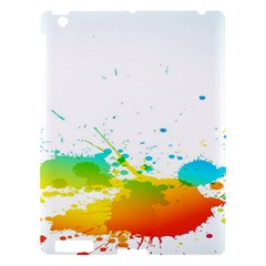 Colorful Abstract Apple Ipad 3/4 Hardshell Case