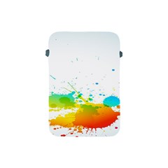 Colorful Abstract Apple Ipad Mini Protective Soft Cases by BangZart