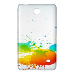 Colorful Abstract Samsung Galaxy Tab 4 (8 ) Hardshell Case  by BangZart