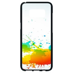 Colorful Abstract Samsung Galaxy S8 Black Seamless Case