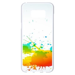 Colorful Abstract Samsung Galaxy S8 Plus White Seamless Case